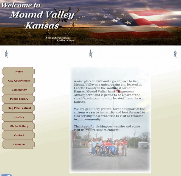 BEFORE — City of Mound Valley